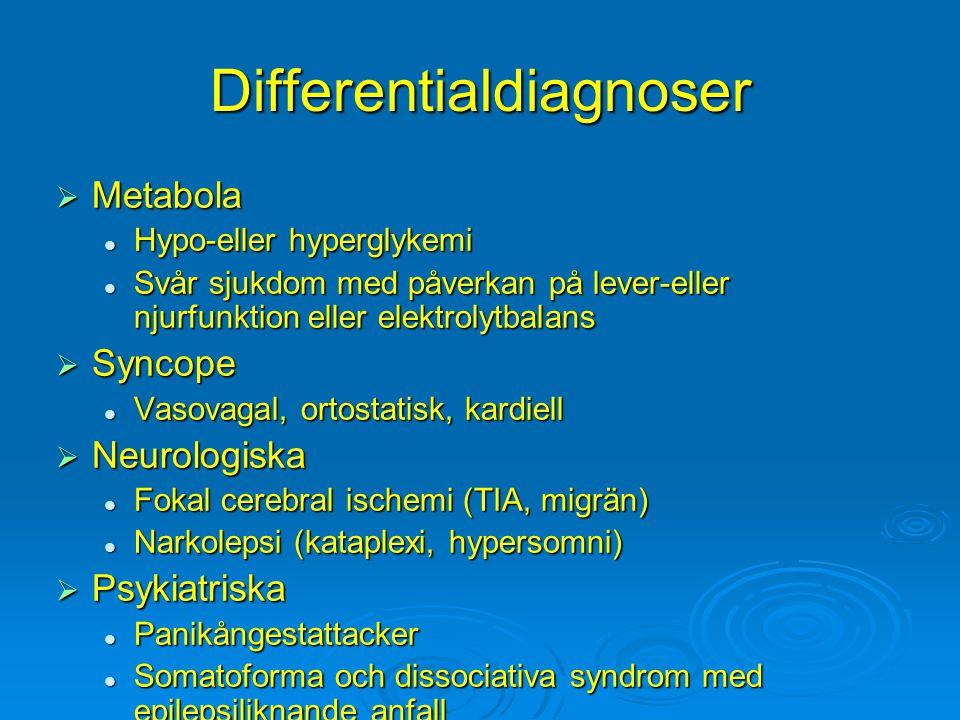 Differentialdiagnoser