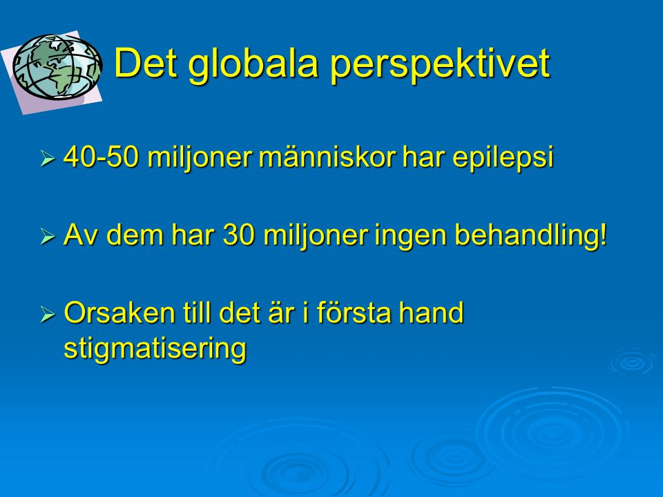 Det globala perspektivet