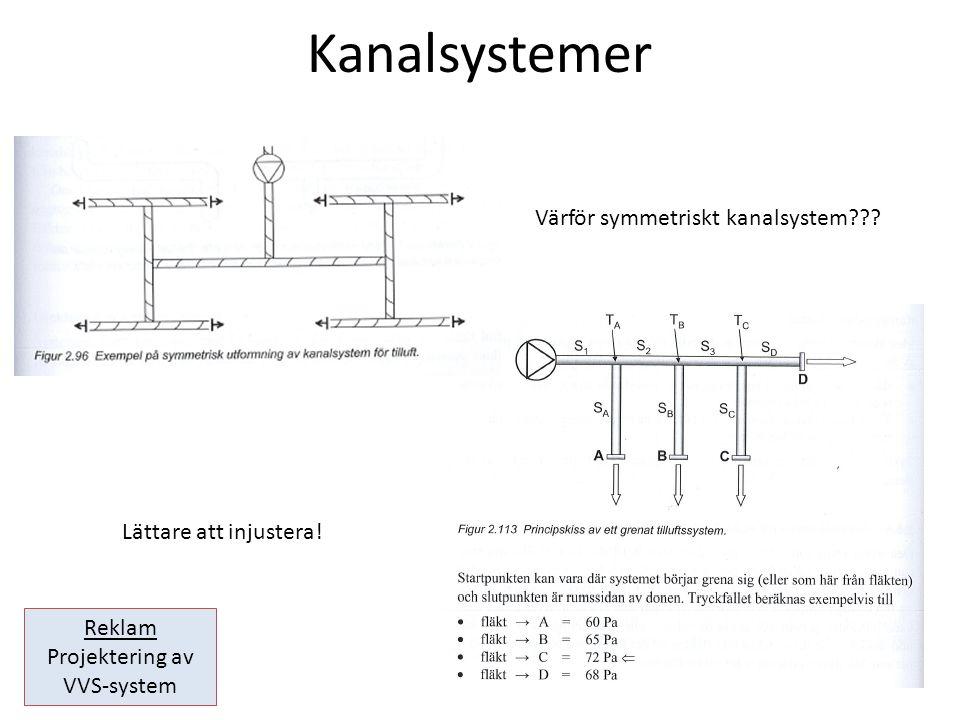 Projektering av VVS-system