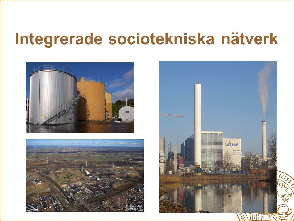 Integrerade sociotekniska nätverk