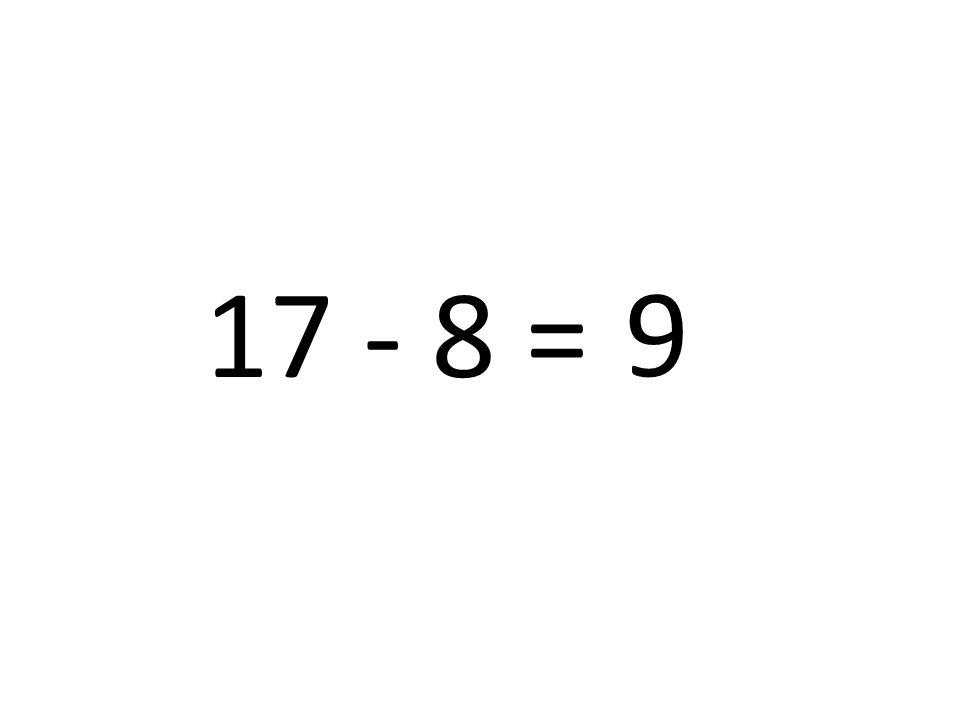 9 17 - 8 =