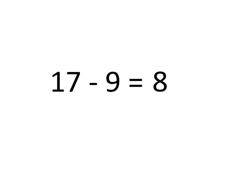 8 17 - 9 =