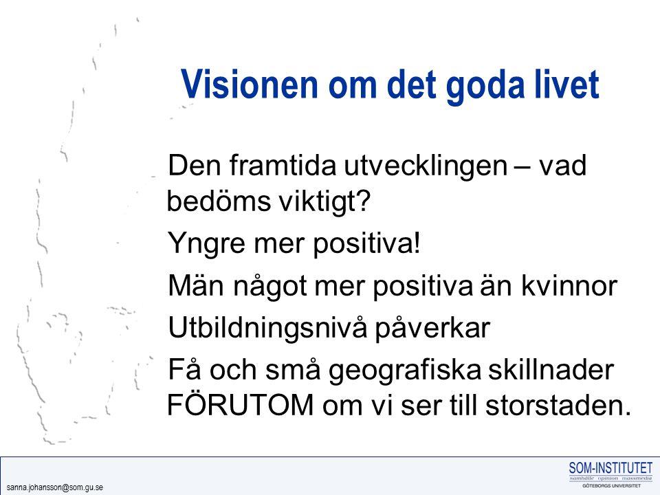 Visionen om det goda livet