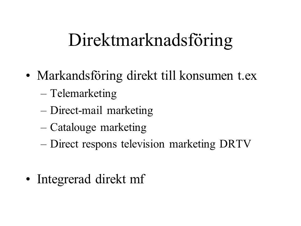 Direktmarknadsföring