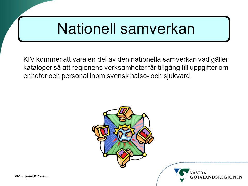 Nationell samverkan