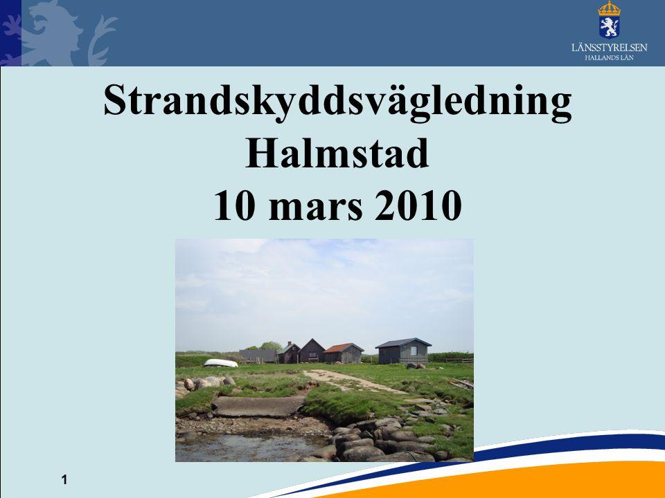 Strandskyddsvägledning Halmstad 10 mars 2010