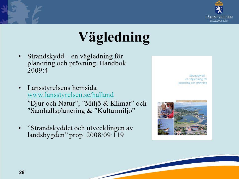 Vägledning Strandskydd – en vägledning för planering och prövning. Handbok 2009:4. Länsstyrelsens hemsida www.lansstyrelsen.se/halland.