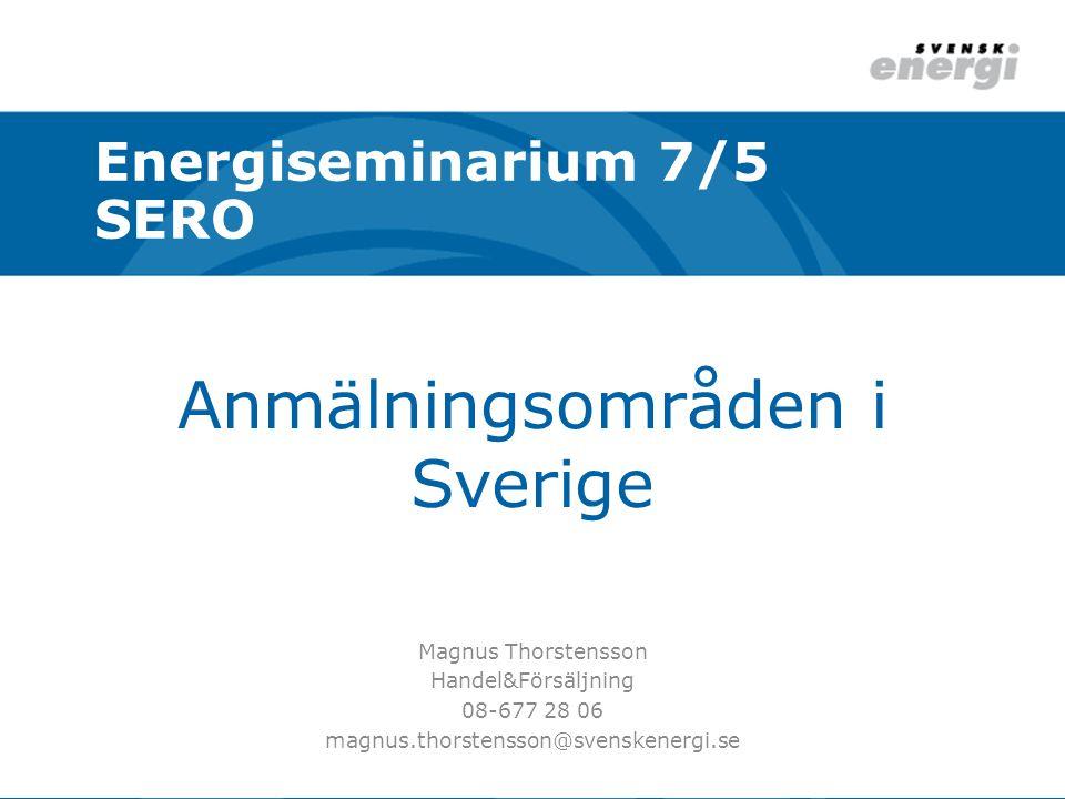 Anmälningsområden i Sverige