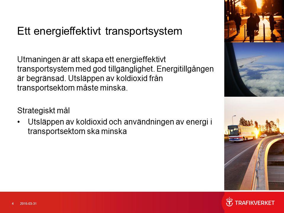 Ett energieffektivt transportsystem