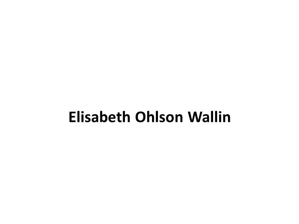 Elisabeth Ohlson Wallin