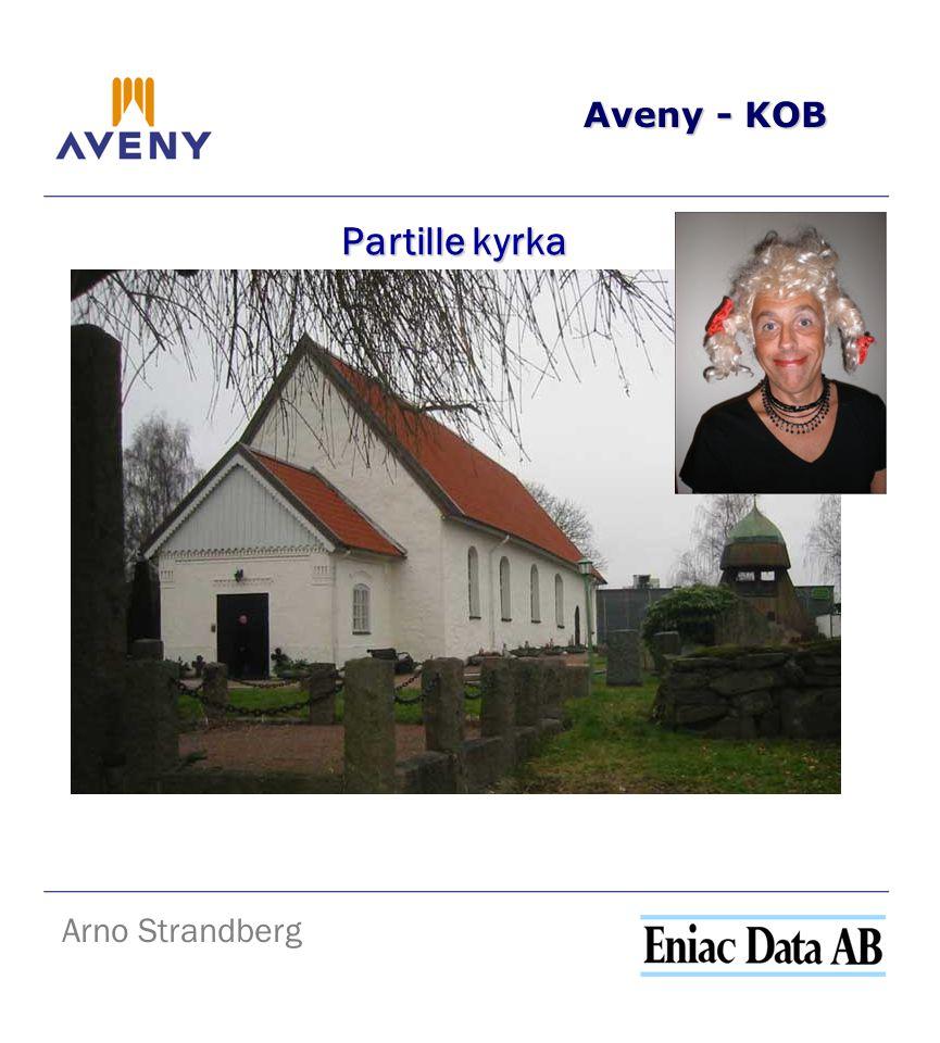 Aveny - KOB Partille kyrka Arno Strandberg