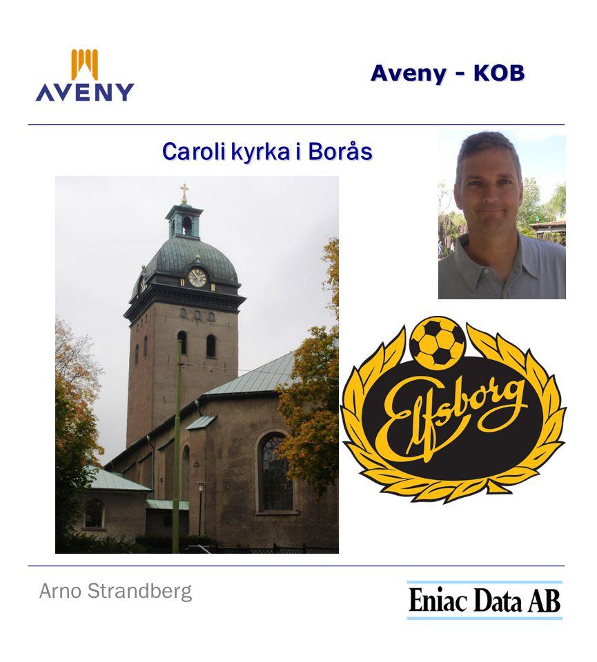 Aveny - KOB Caroli kyrka i Borås Arno Strandberg