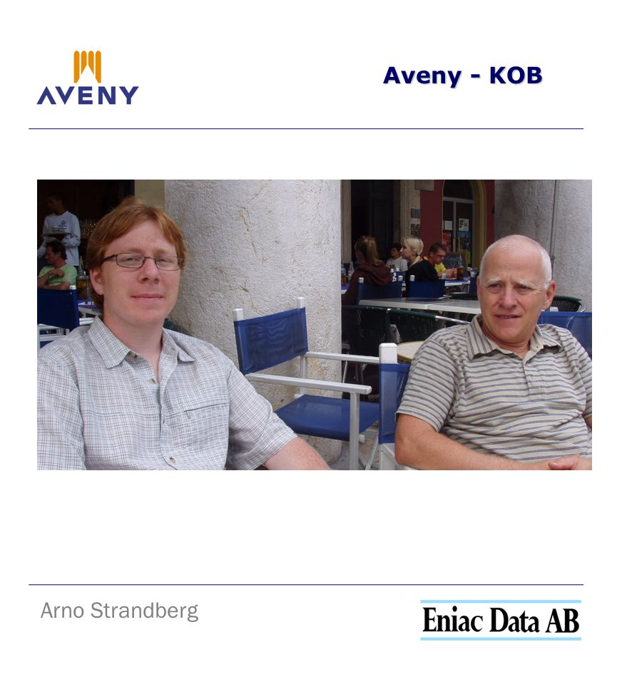 Aveny - KOB Arno Strandberg