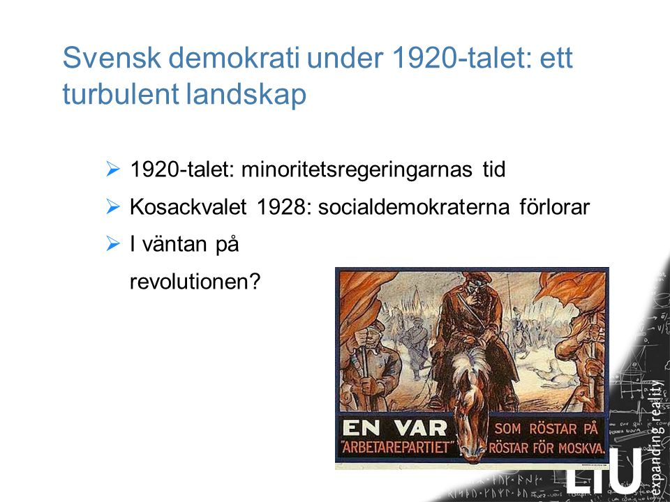 Svensk demokrati under 1920-talet: ett turbulent landskap