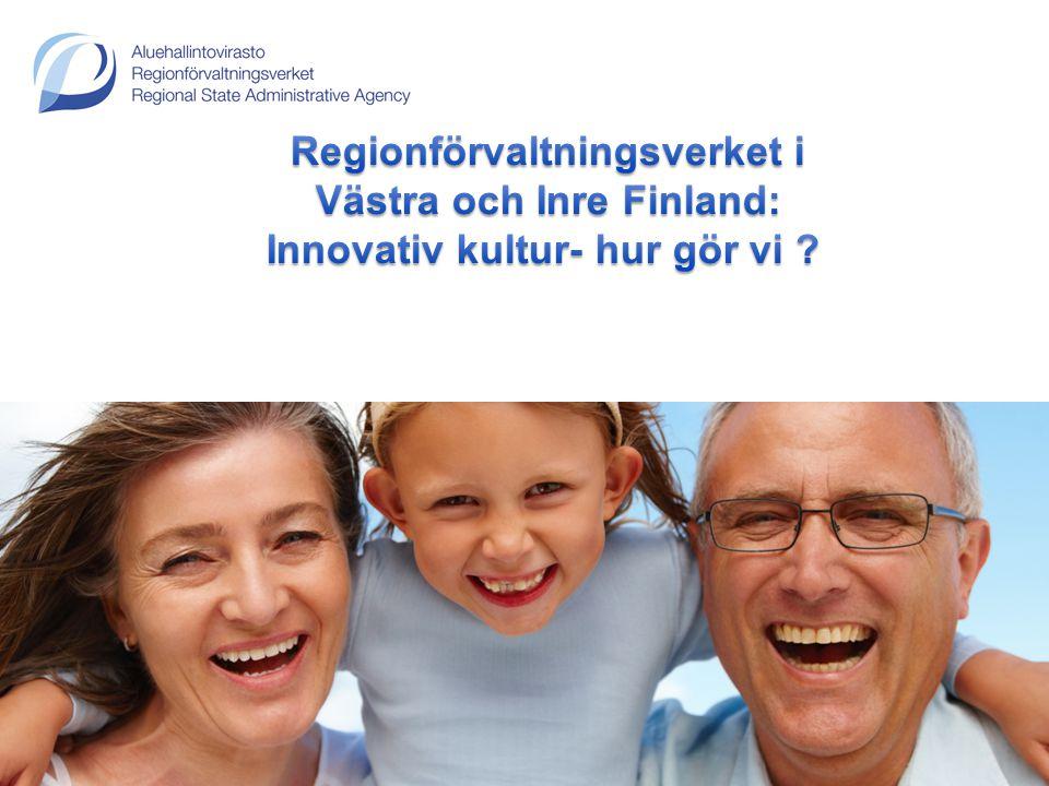 Västra och Inre Finland: Innovativ kultur- hur gör vi