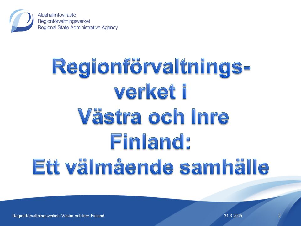Regionförvaltnings-verket i Västra och Inre Finland: