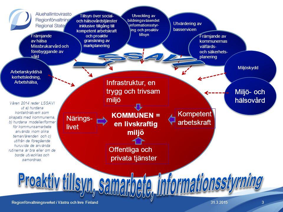 Proaktiv tillsyn, samarbete, informationsstyrning