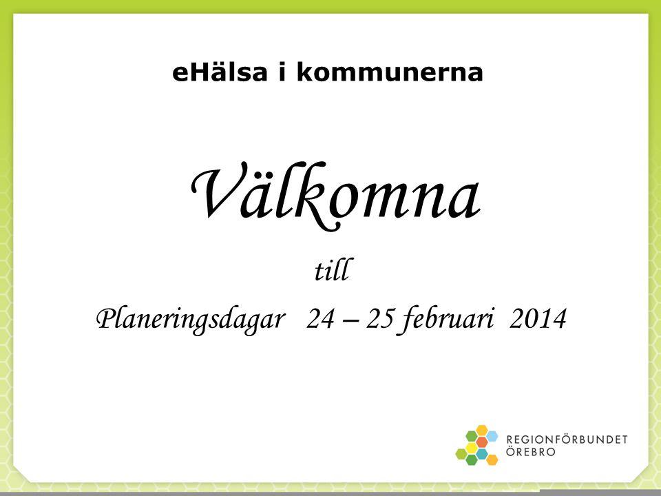 Planeringsdagar 24 – 25 februari 2014