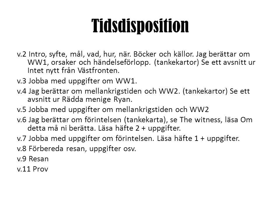 Tidsdisposition