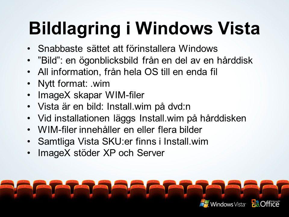 Bildlagring i Windows Vista