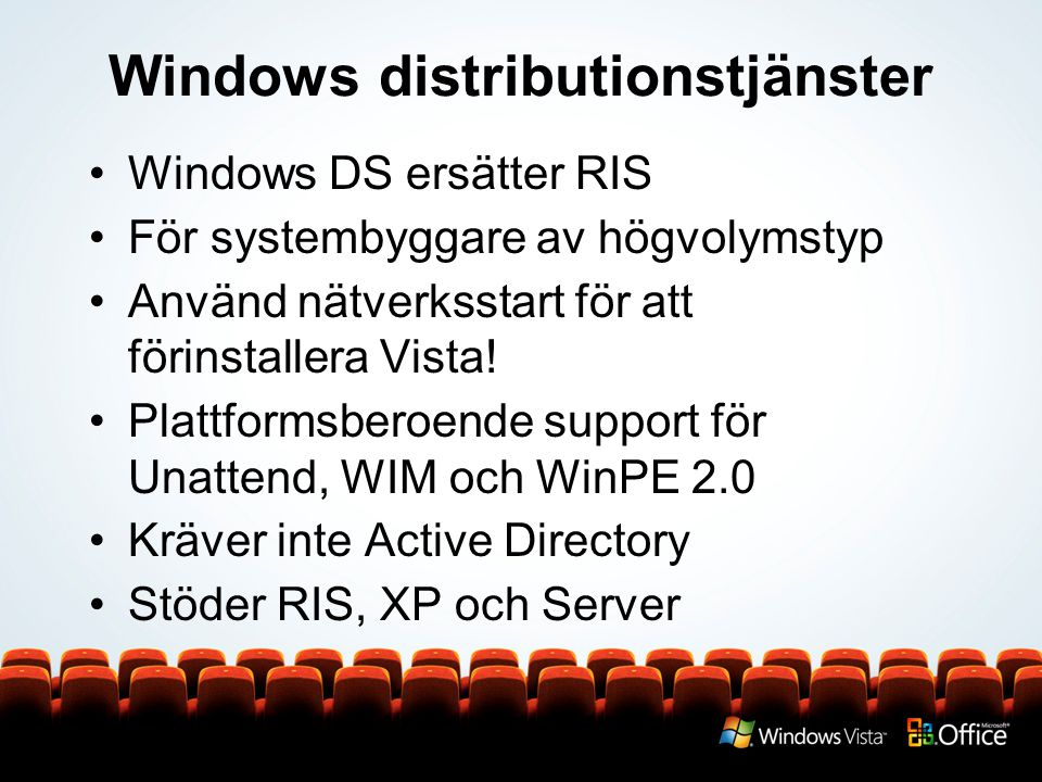 Windows distributionstjänster