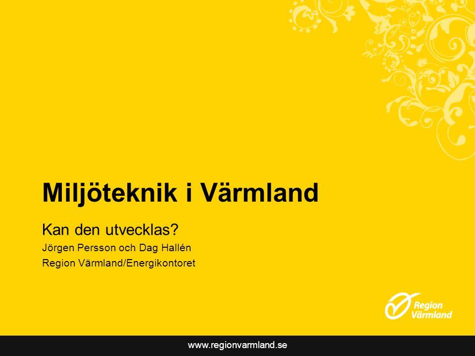 Miljöteknik i Värmland