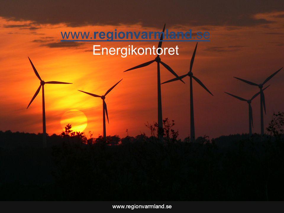 www.regionvarmland.se Energikontoret