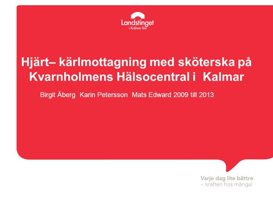 Birgit Åberg Karin Petersson Mats Edward 2009 till 2013