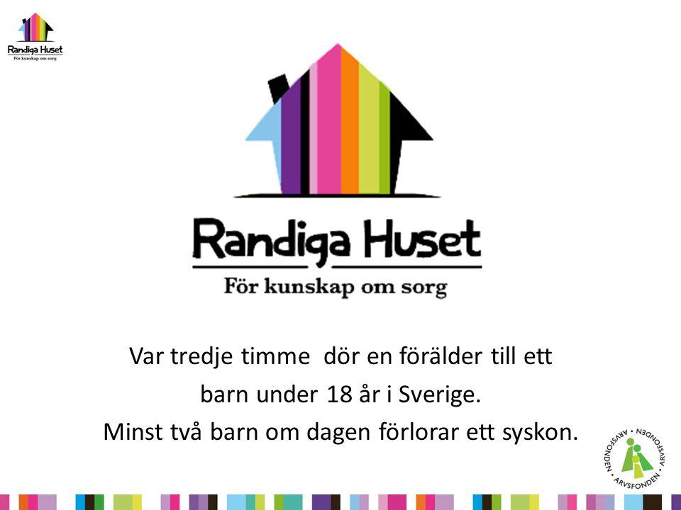 Var tredje timme dör en förälder till ett barn under 18 år i Sverige.