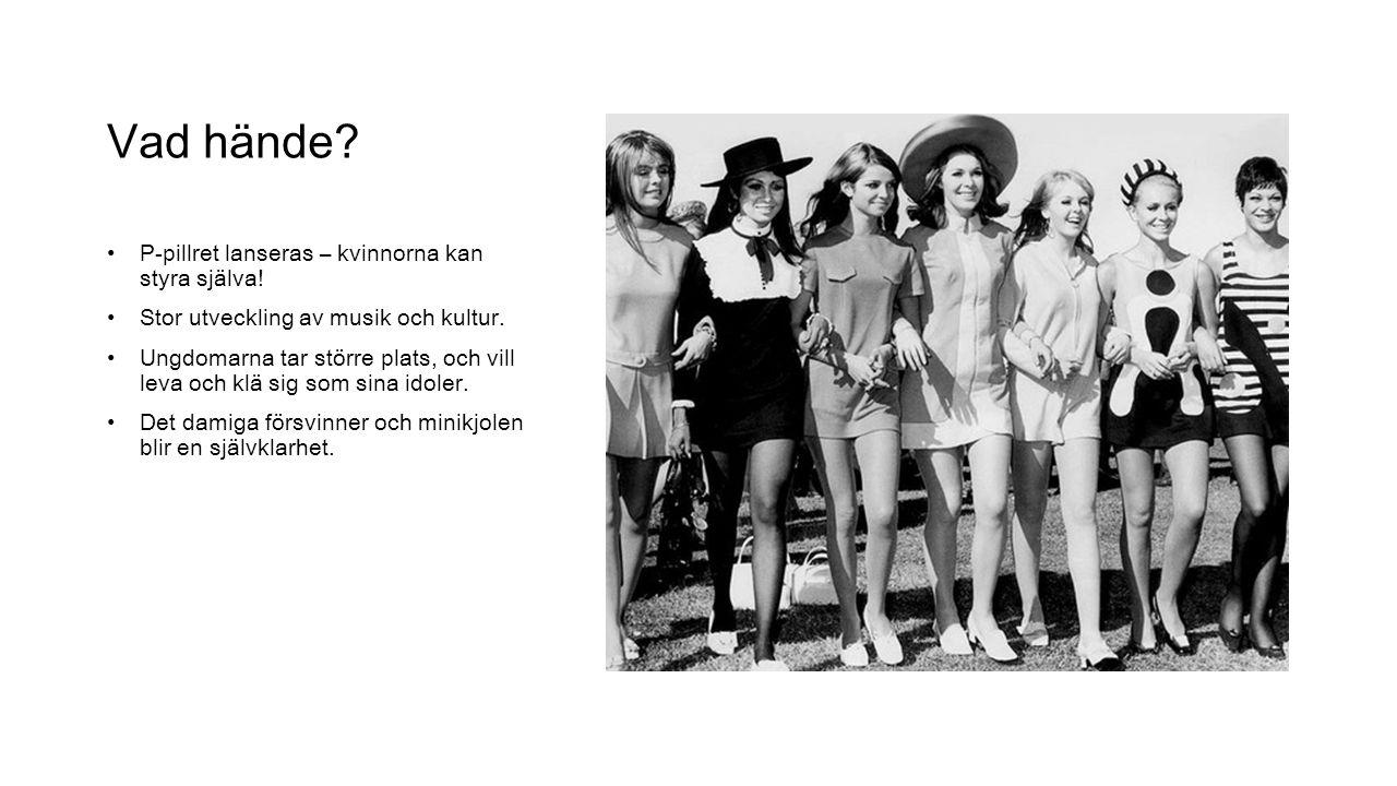 Vad hände P-pillret lanseras – kvinnorna kan styra själva!