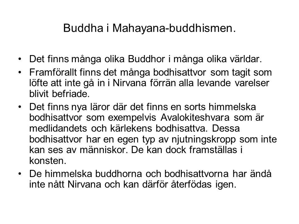 Buddha i Mahayana-buddhismen.