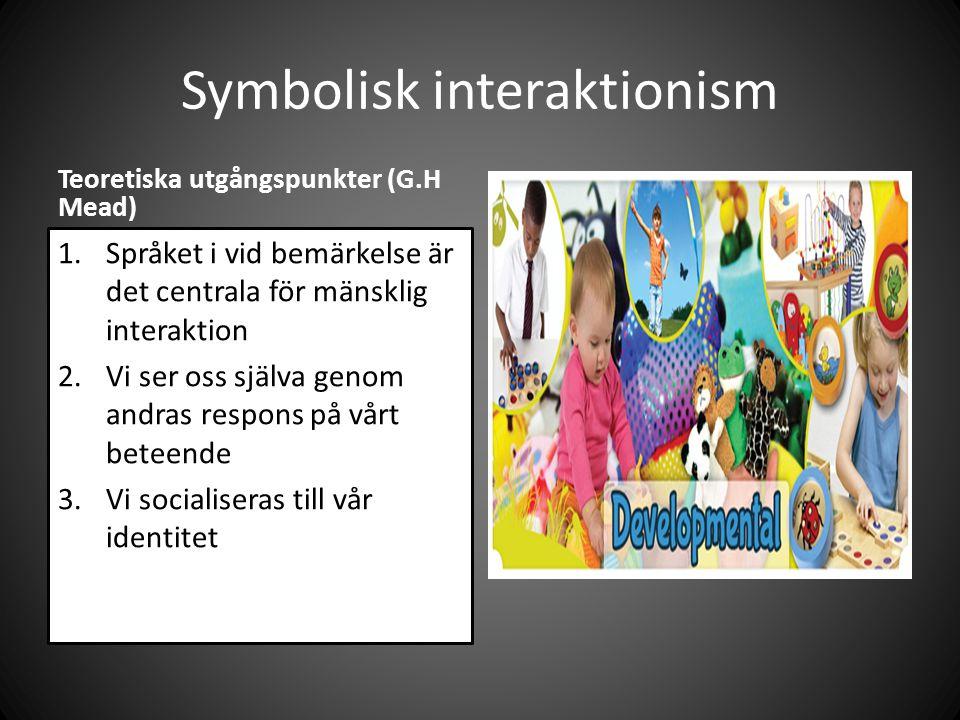 Symbolisk interaktionism
