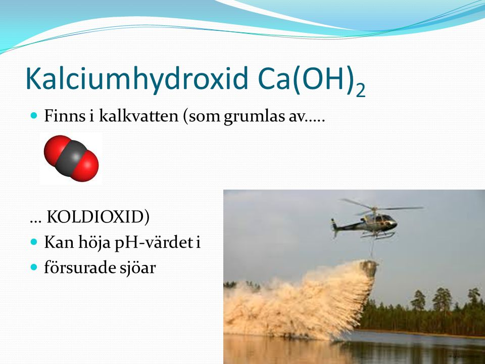 Kalciumhydroxid Ca(OH)2