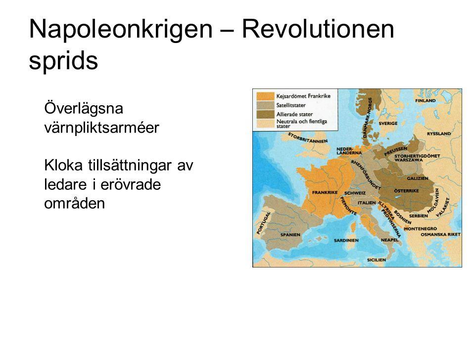 Napoleonkrigen – Revolutionen sprids
