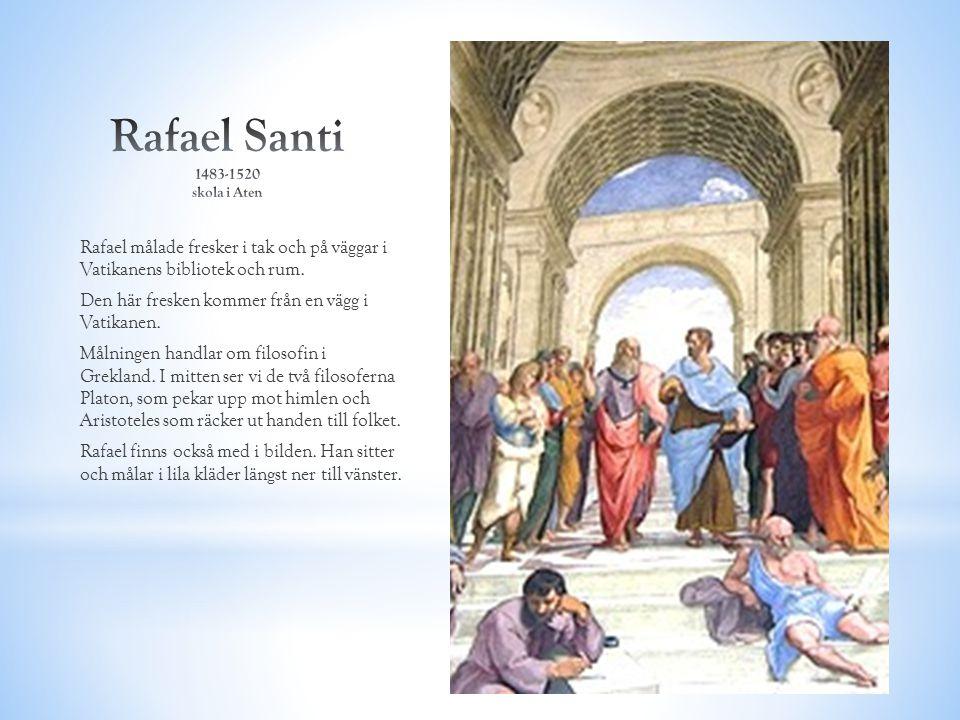 Rafael Santi 1483-1520 skola i Aten