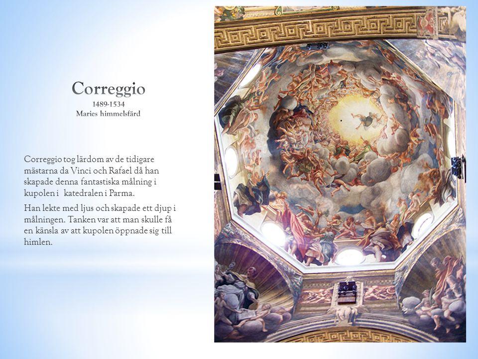 Correggio 1489-1534 Maries himmelsfärd