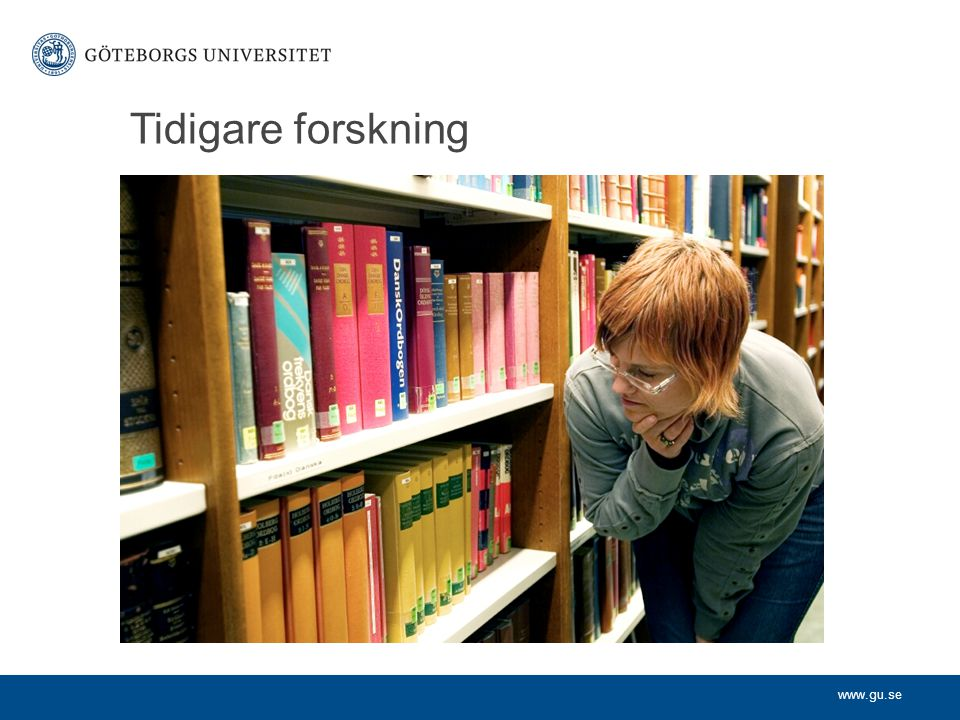 Tidigare forskning
