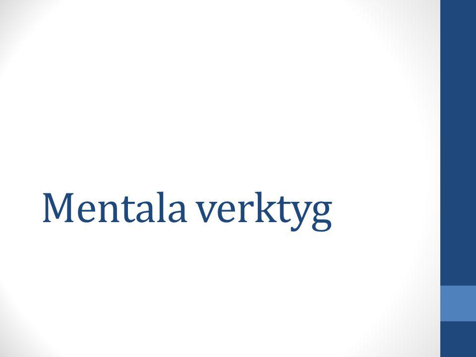 Mentala verktyg
