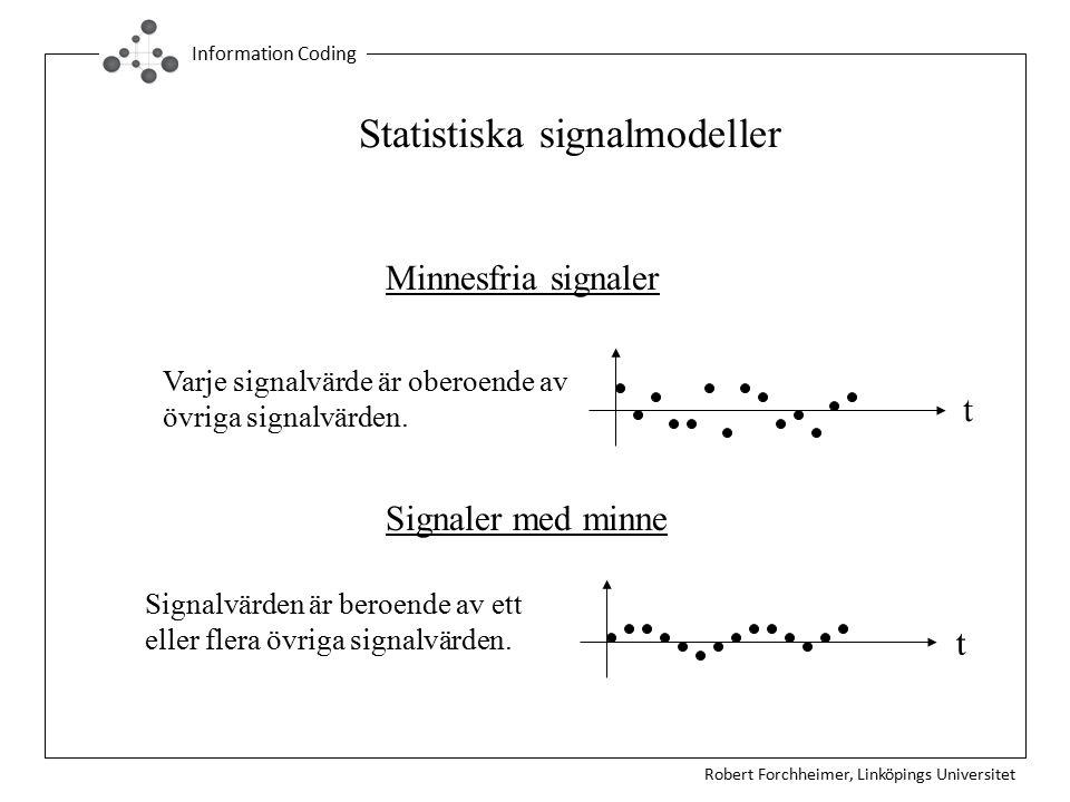 Statistiska signalmodeller
