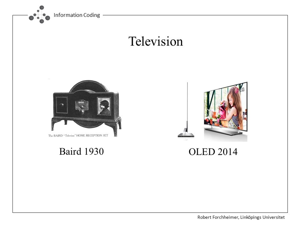 Television Baird 1930 OLED 2014