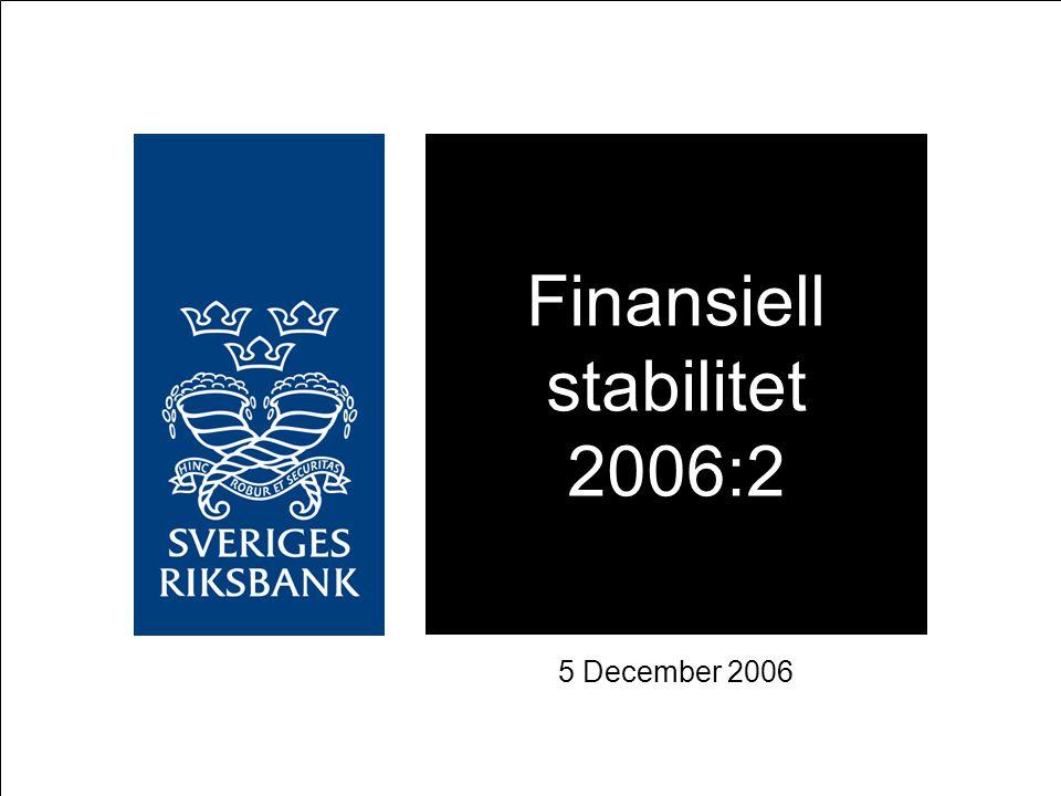 Finansiell stabilitet 2006:2
