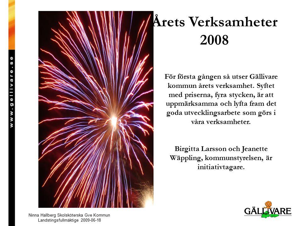 Årets Verksamheter 2008
