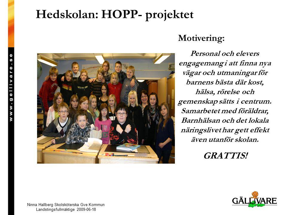 Hedskolan: HOPP- projektet
