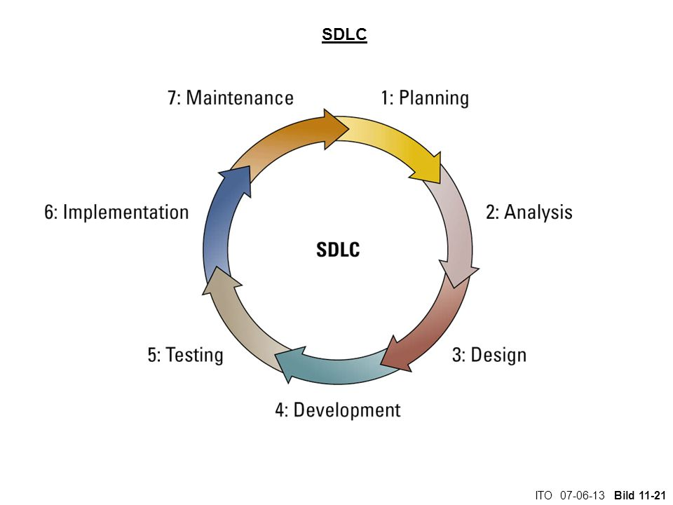 SDLC Walk the students through the systems development life cycle: