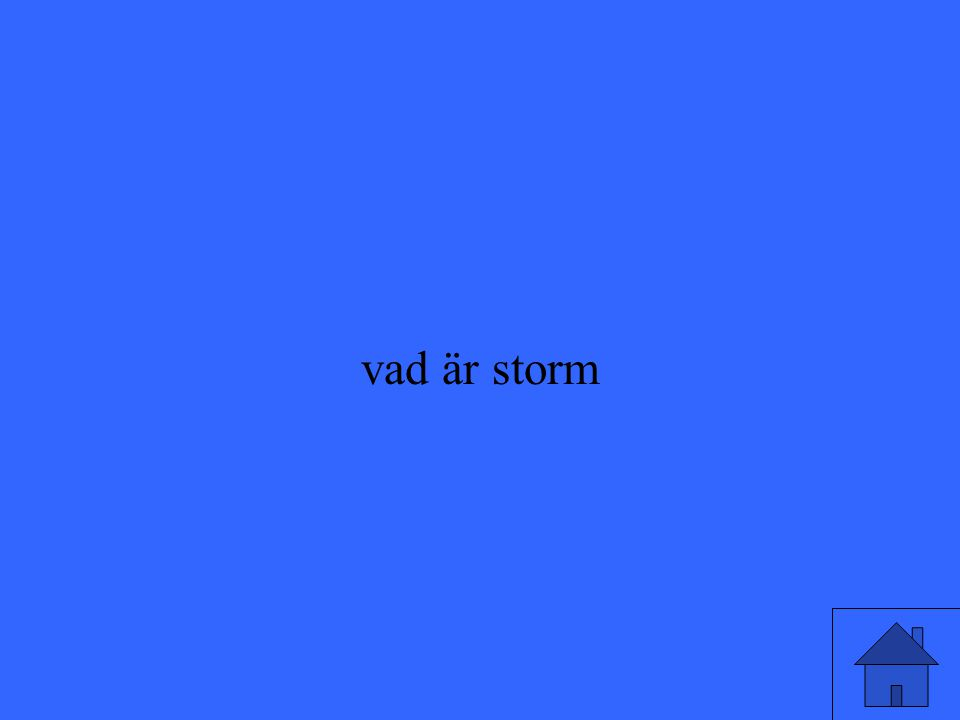 vad är storm