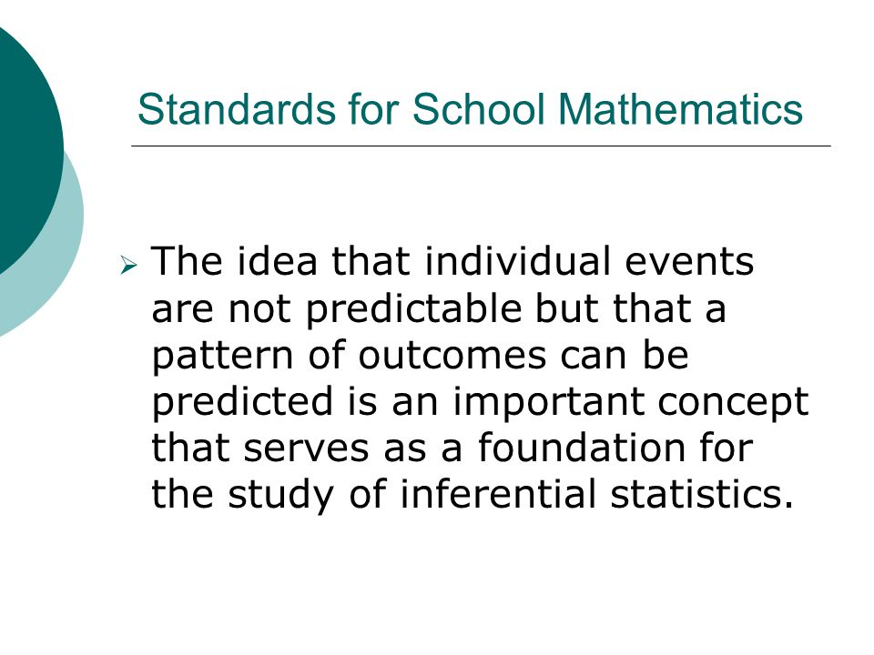 Standards for School Mathematics