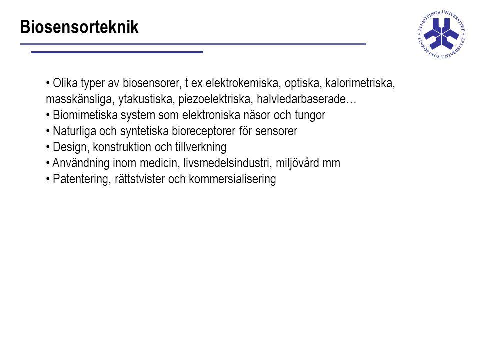 Biosensorteknik