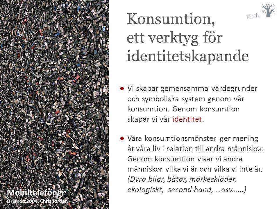Konsumtion, ett verktyg för identitetskapande