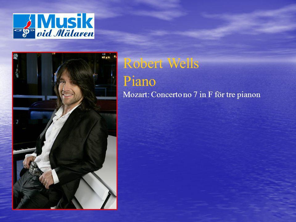 Robert Wells Piano Mozart: Concerto no 7 in F för tre pianon