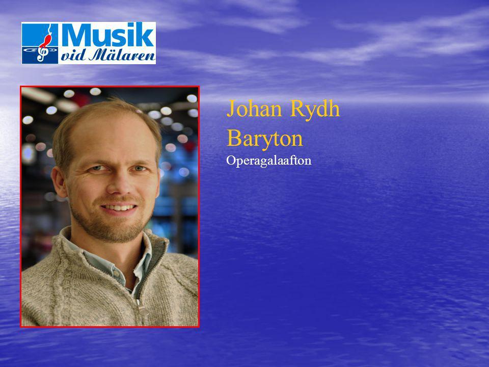 Johan Rydh Baryton Operagalaafton